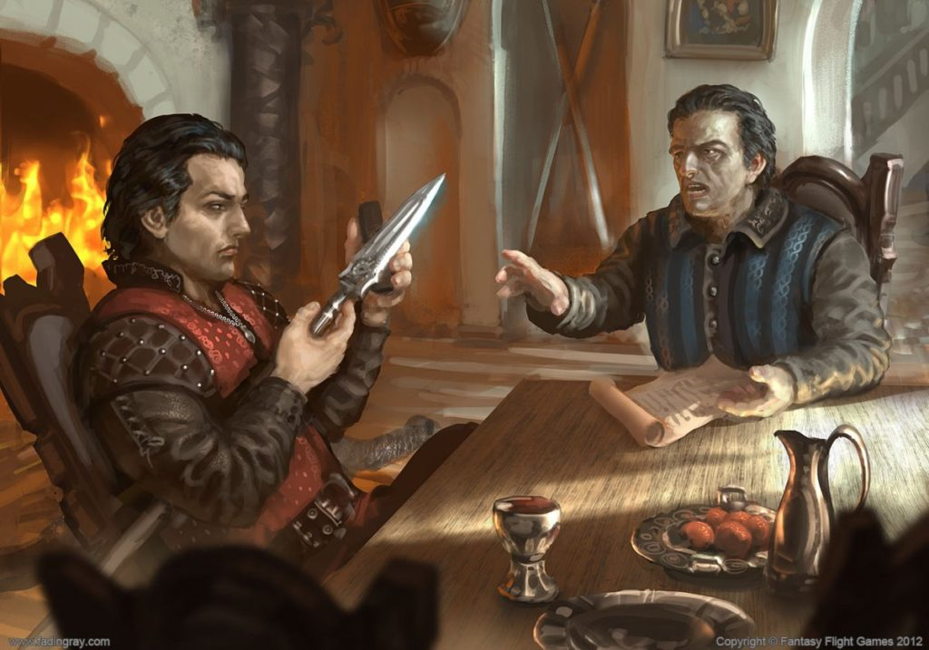 Oberyn and Doran Martell discuss plans for the future - fan fiction