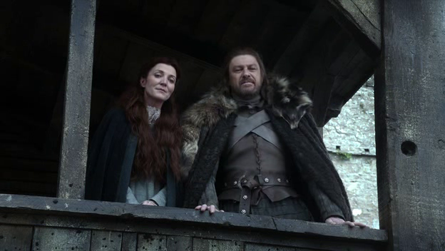 Catelyn persuades Ned Stark - fan fiction
