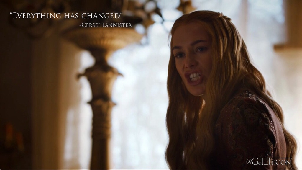 Cersei Lannister changes cannon